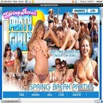Spring Break Party Girls Acc Premium