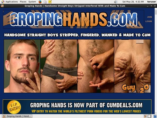 Free Video Groping Hands