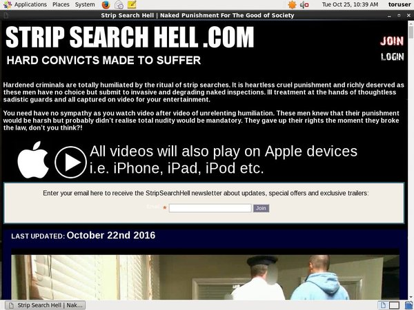 Strip Search Hell Renew Subscription