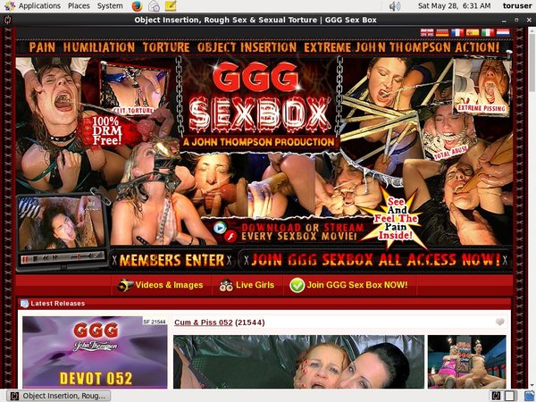 GGG Sex Box Porn Accounts